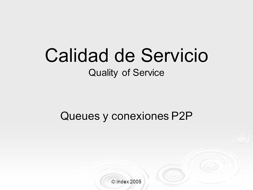 Calidad de Servicio Quality of Service