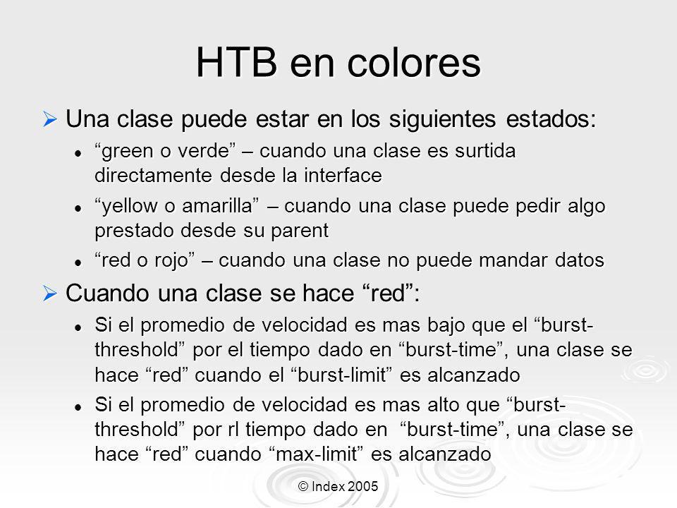 HTB en colores Una clase puede estar en los siguientes estados: