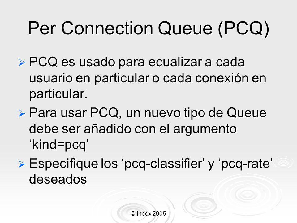 Per Connection Queue (PCQ)