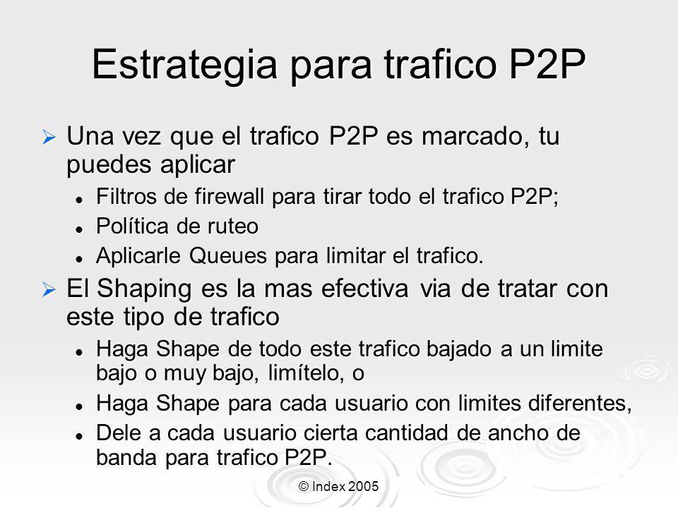 Estrategia para trafico P2P