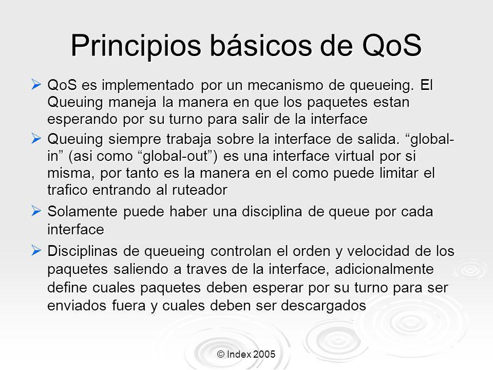 Principios básicos de QoS