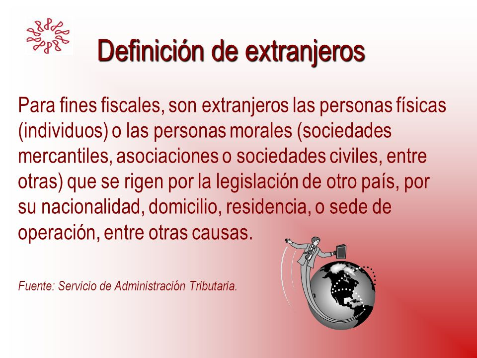 Definición de extranjeros