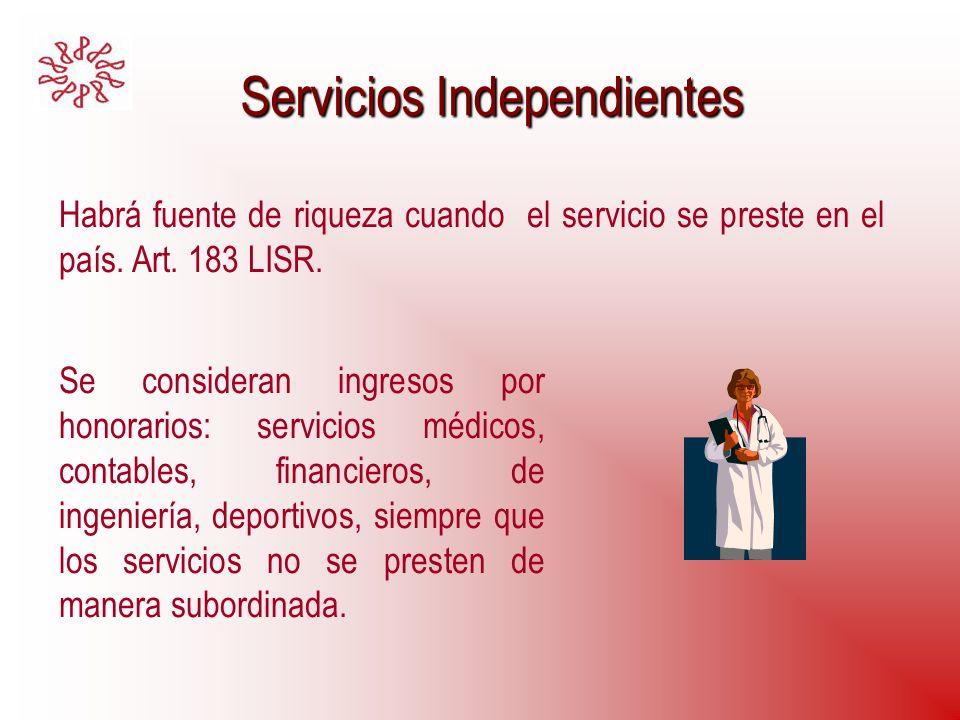 Servicios Independientes