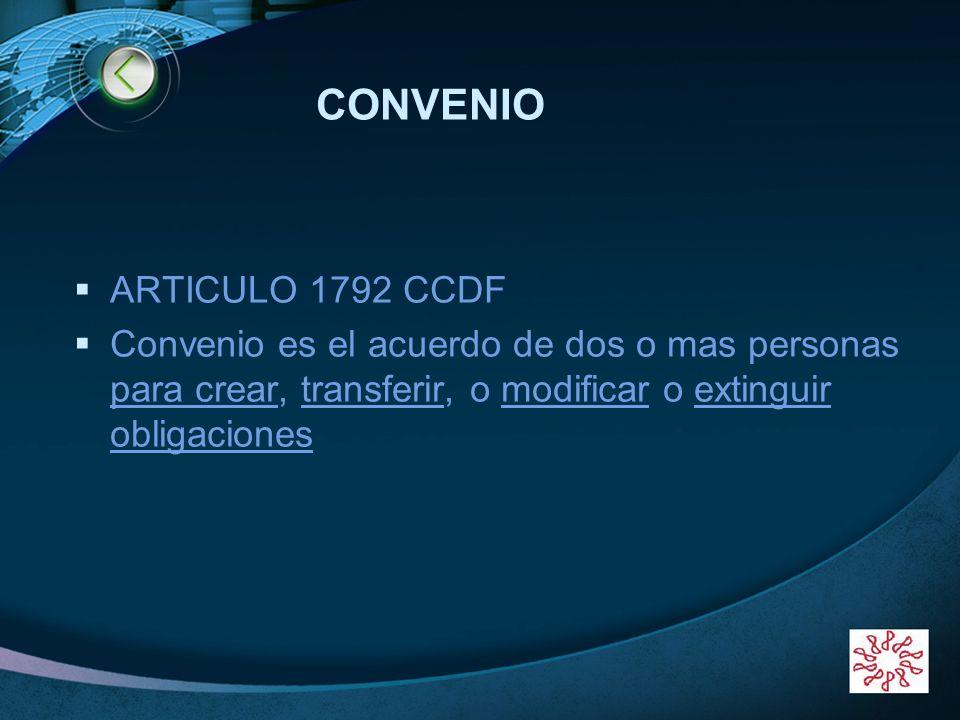 CONVENIO ARTICULO 1792 CCDF
