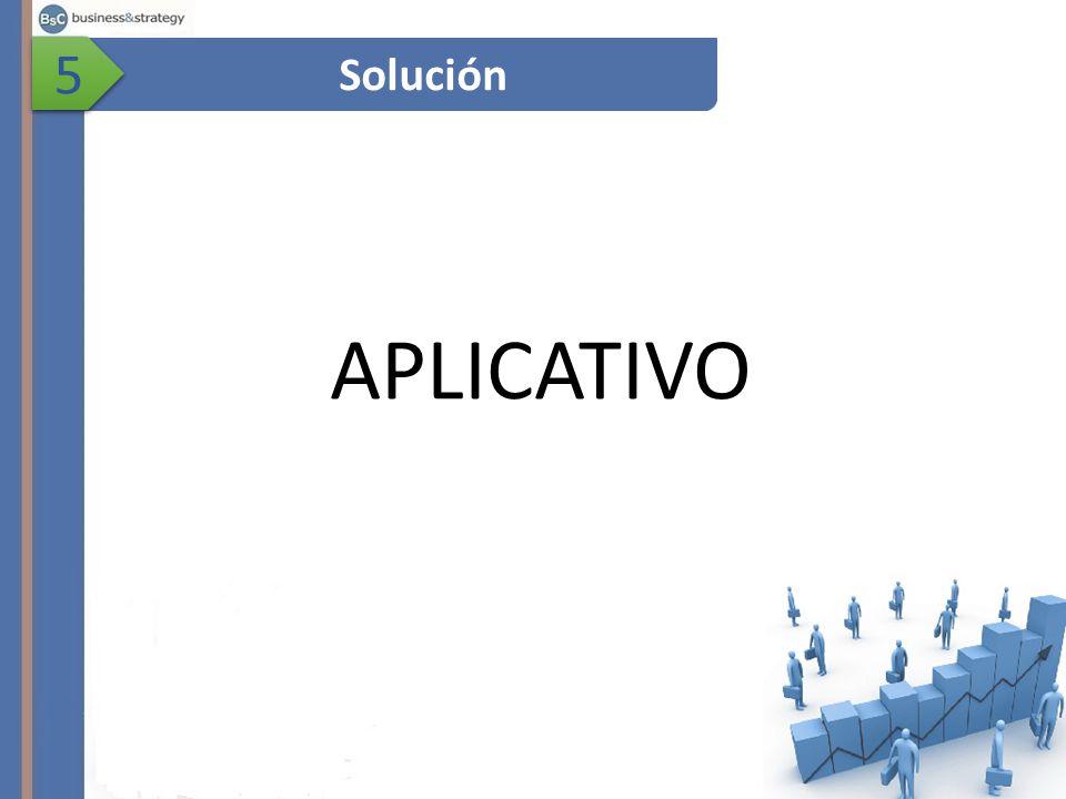 5 Solución APLICATIVO