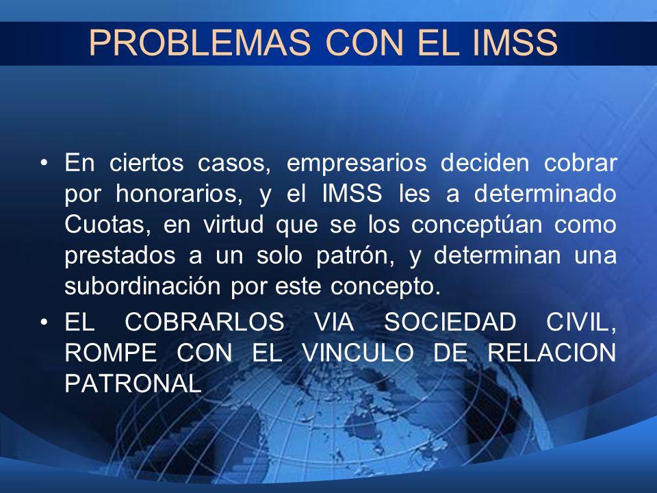 PROBLEMAS CON EL IMSS