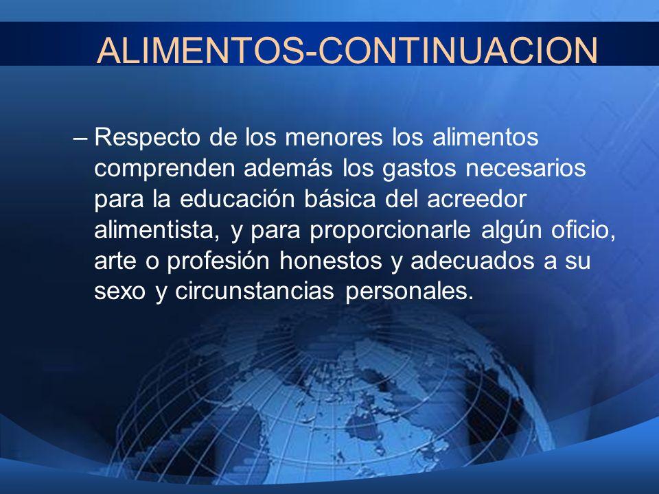 ALIMENTOS-CONTINUACION