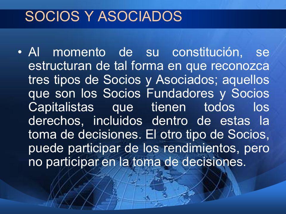 SOCIOS Y ASOCIADOS