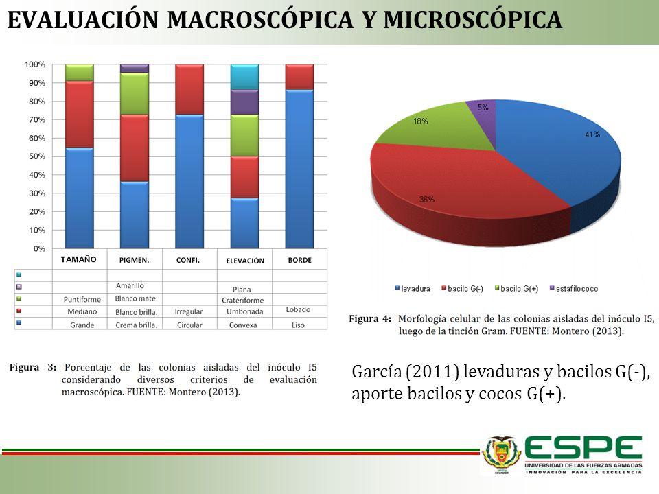 Evaluación macroscópica y microscópica