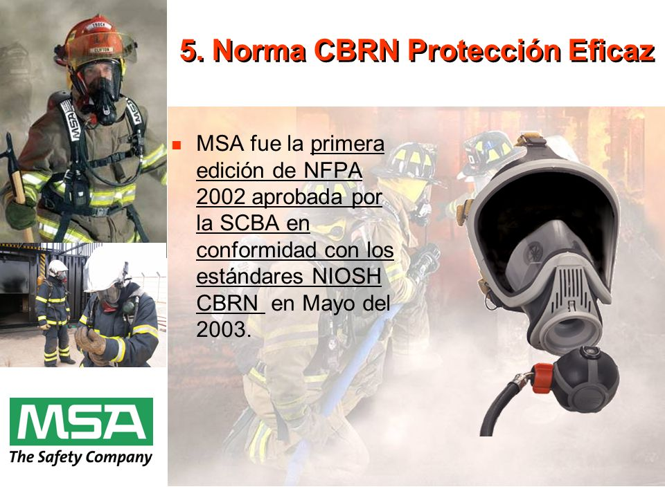 5. Norma CBRN Protección Eficaz