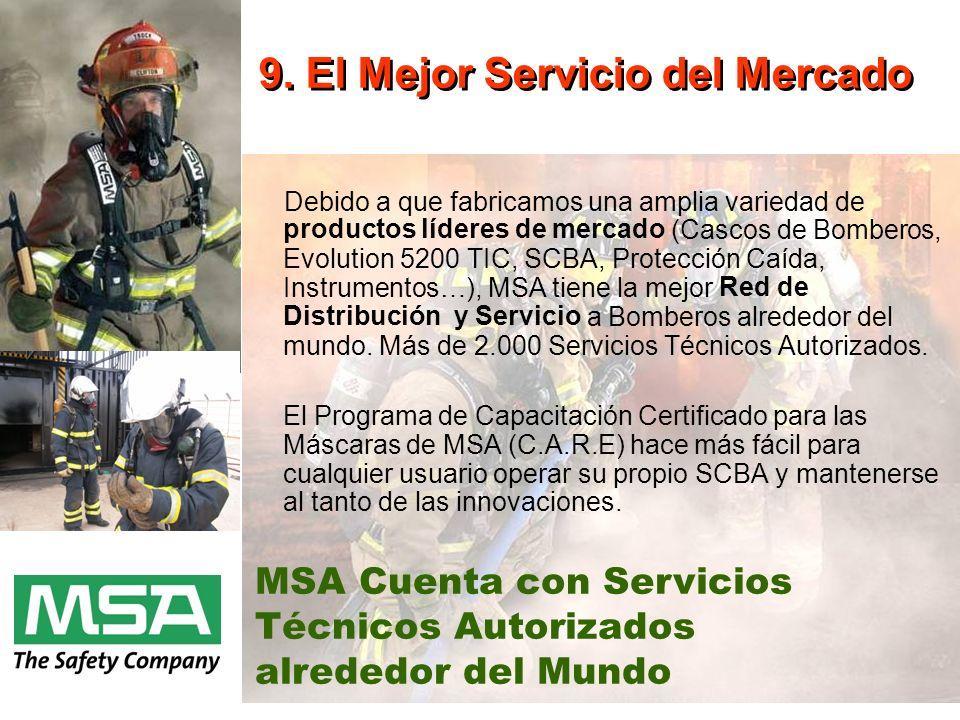 9. El Mejor Servicio del Mercado
