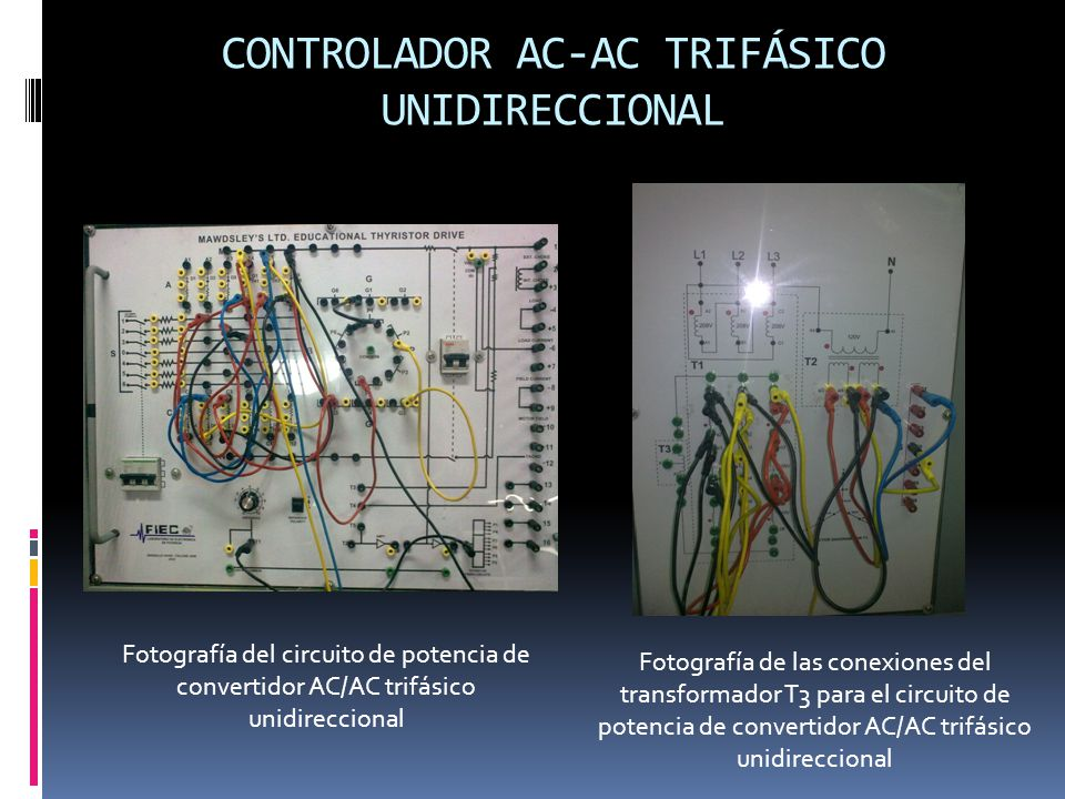 CONTROLADOR AC-AC TRIFÁSICO UNIDIRECCIONAL