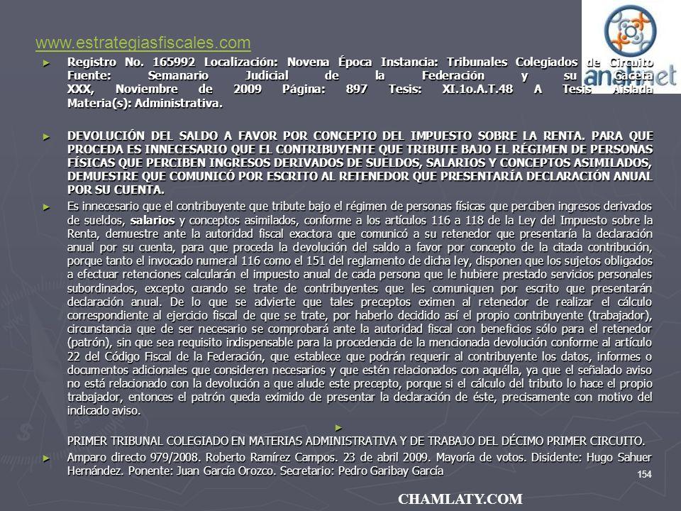 www.estrategiasfiscales.com CHAMLATY.COM