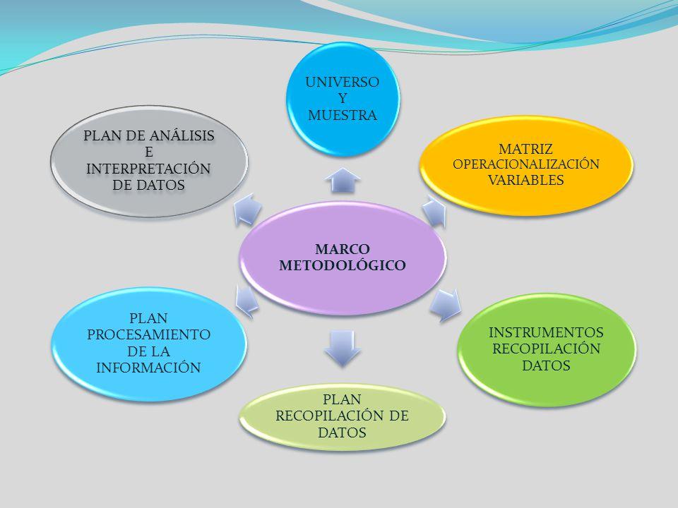 MATRIZ OPERACIONALIZACIÓN VARIABLES INSTRUMENTOS RECOPILACIÓN DATOS