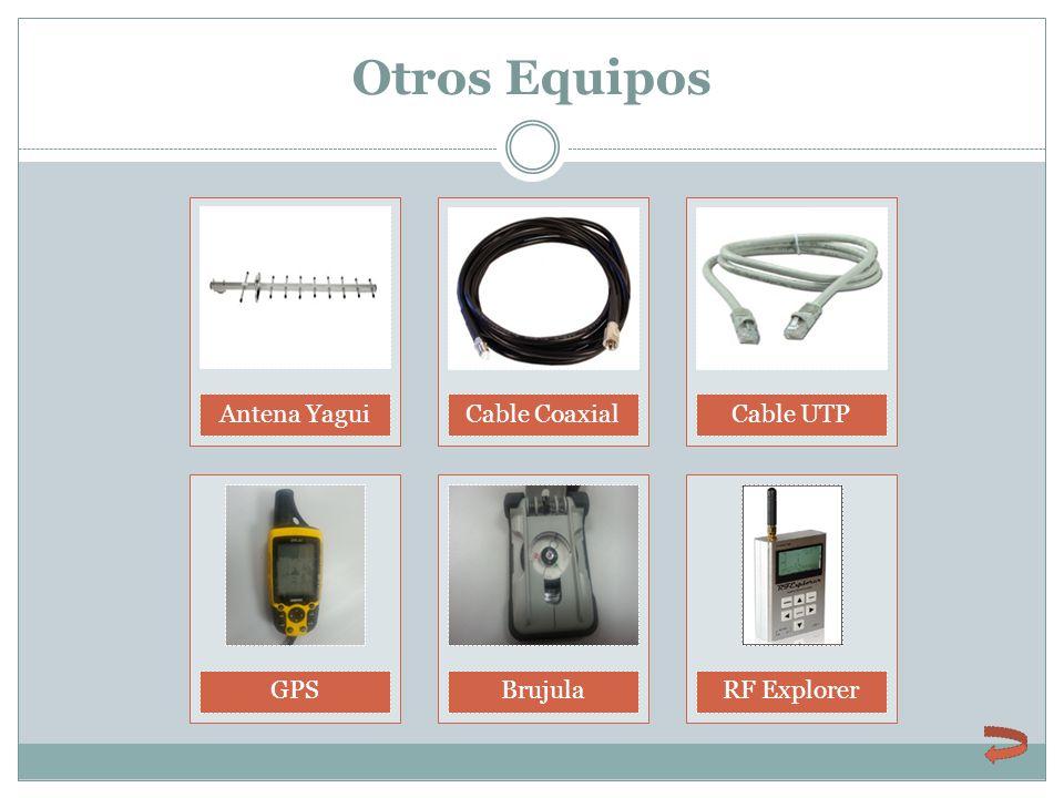 Otros Equipos Antena Yagui Cable Coaxial Cable UTP GPS Brujula