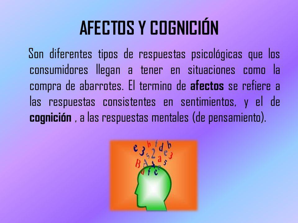 AFECTOS Y COGNICIÓN