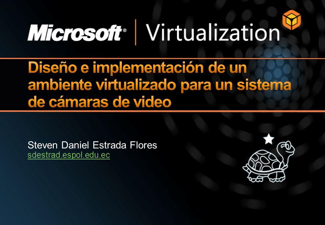 Diseño e implementación de un ambiente virtualizado para un sistema de cámaras de video