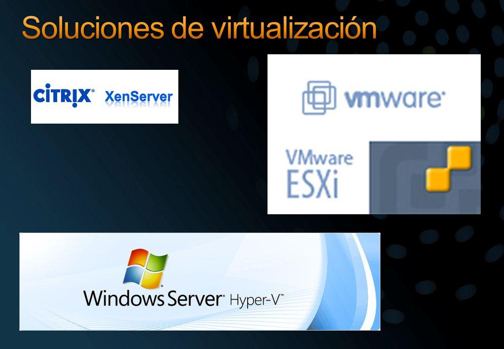 Soluciones de virtualización