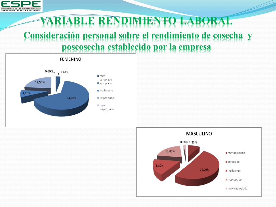 VARIABLE RENDIMIENTO LABORAL