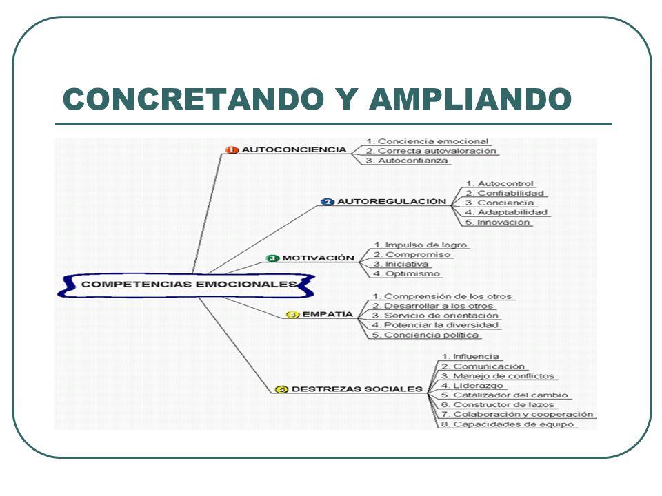 CONCRETANDO Y AMPLIANDO