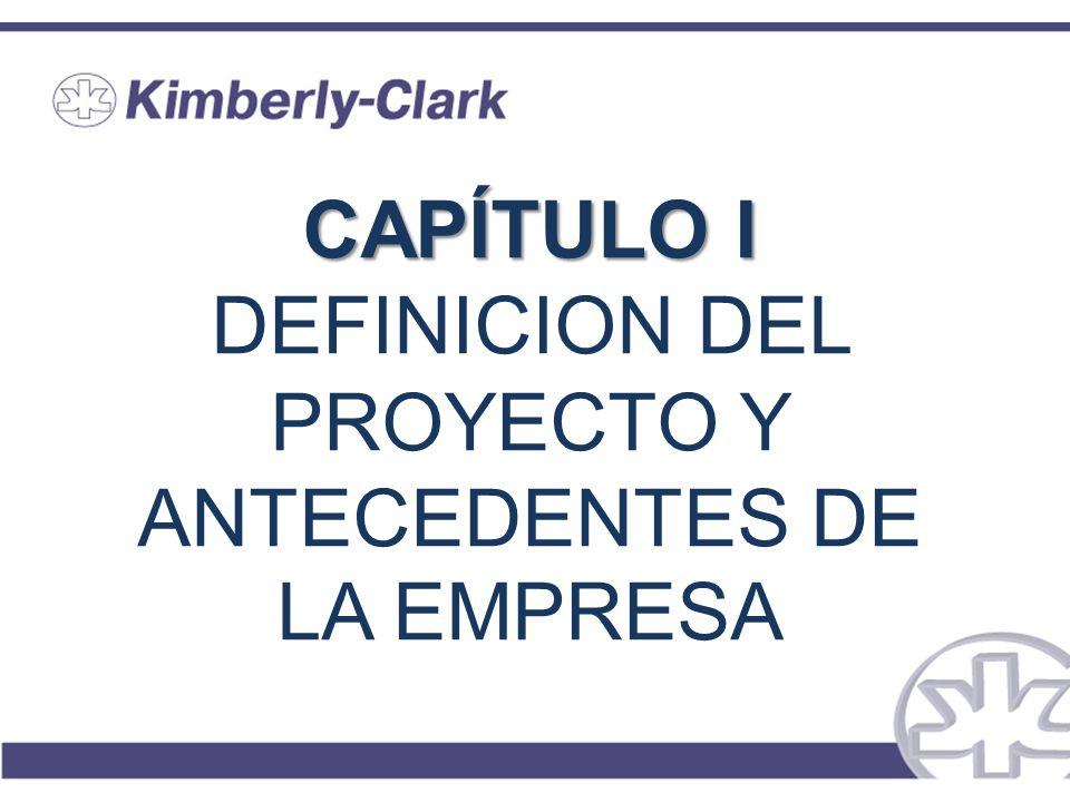 CAPÍTULO I DEFINICION DEL PROYECTO Y ANTECEDENTES DE LA EMPRESA