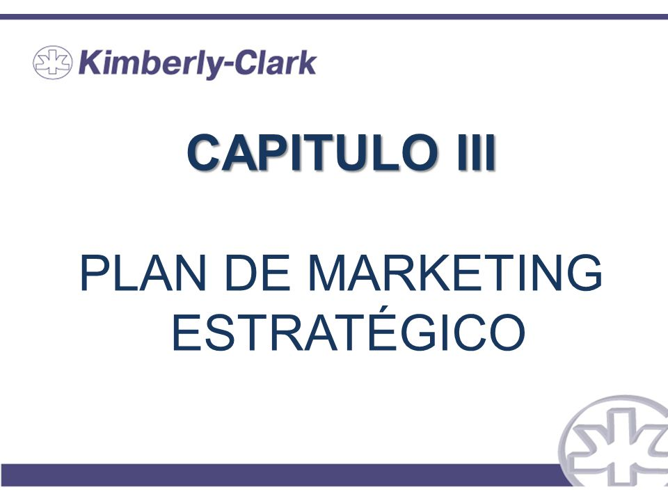 CAPITULO III PLAN DE MARKETING ESTRATÉGICO