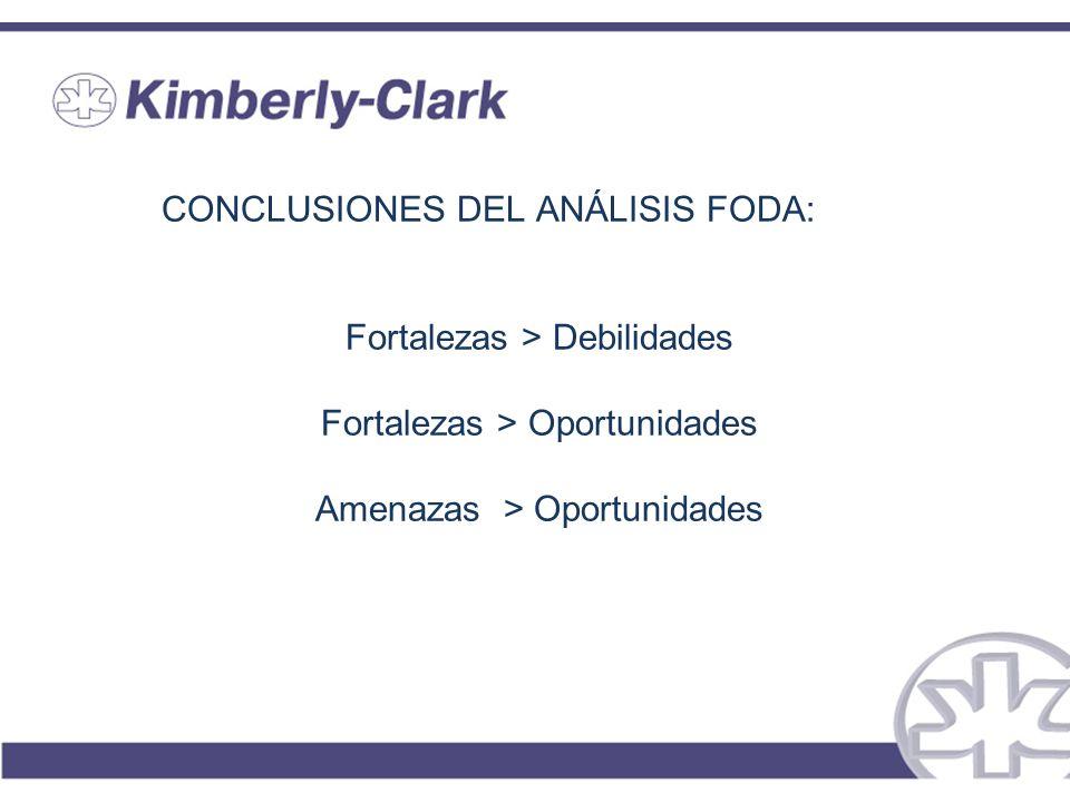 CONCLUSIONES DEL ANÁLISIS FODA: