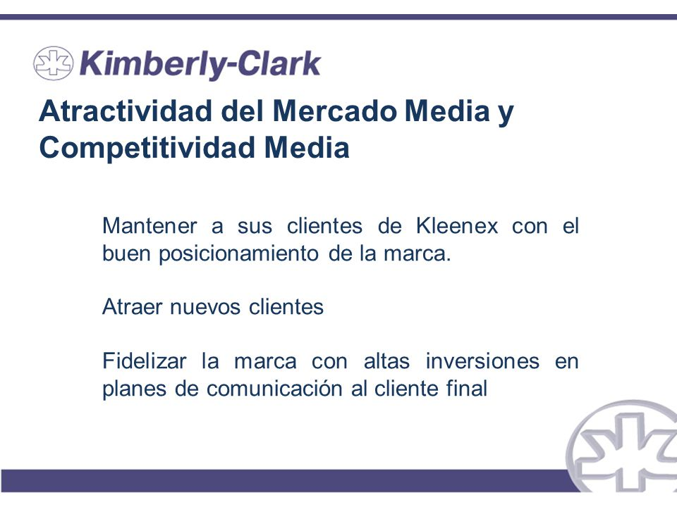 Atractividad del Mercado Media y Competitividad Media