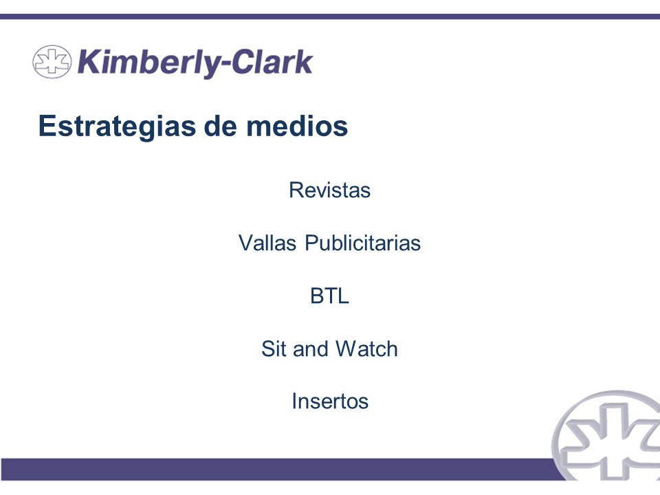 Estrategias de medios Revistas Vallas Publicitarias BTL Sit and Watch