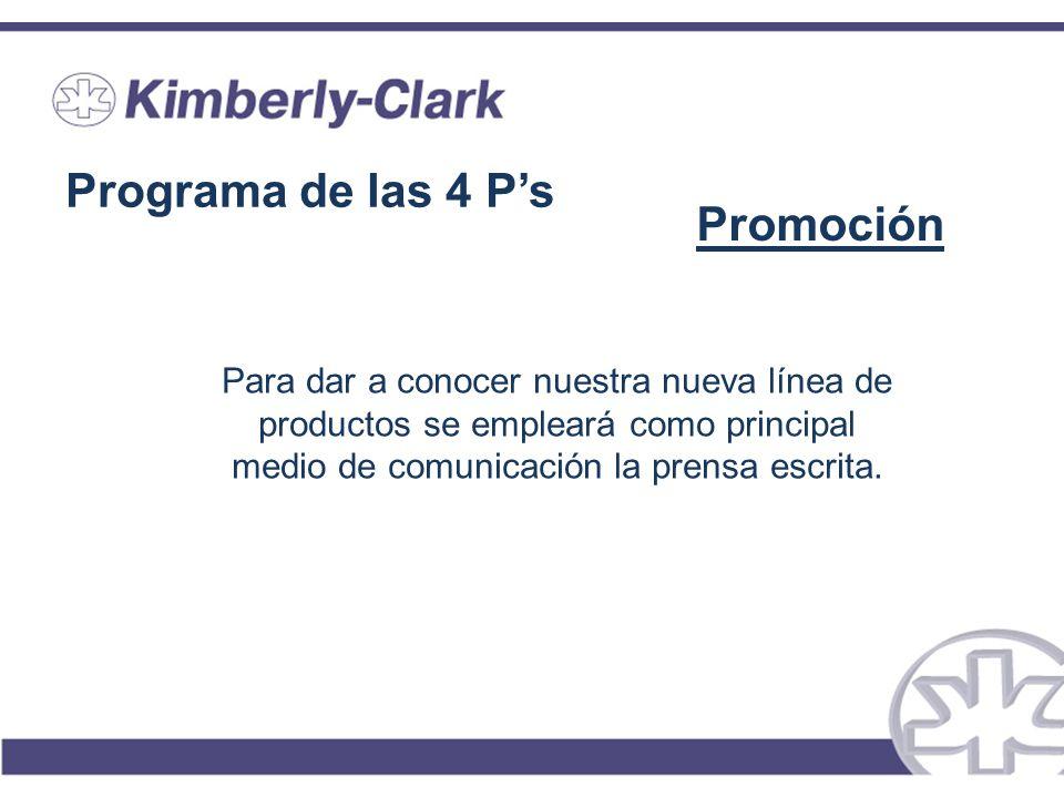 Programa de las 4 P's Promoción
