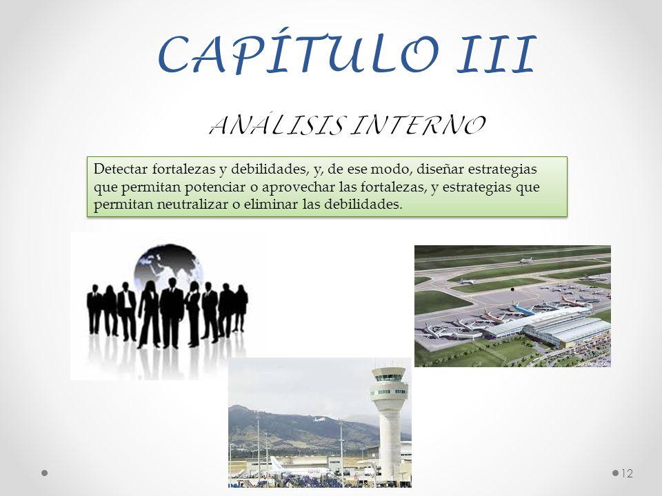 CAPÍTULO III ANÁLISIS INTERNO