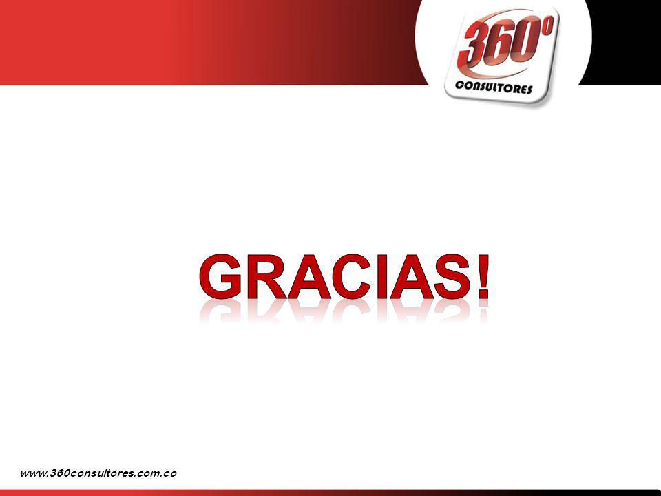 Gracias! www.360consultores.com.co