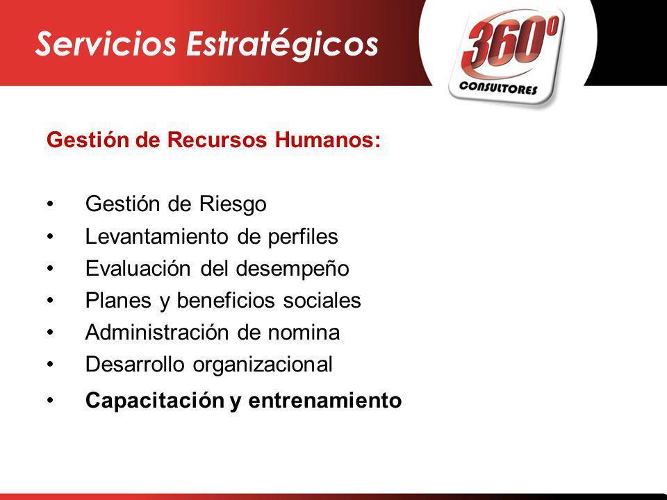 Servicios Estratégicos