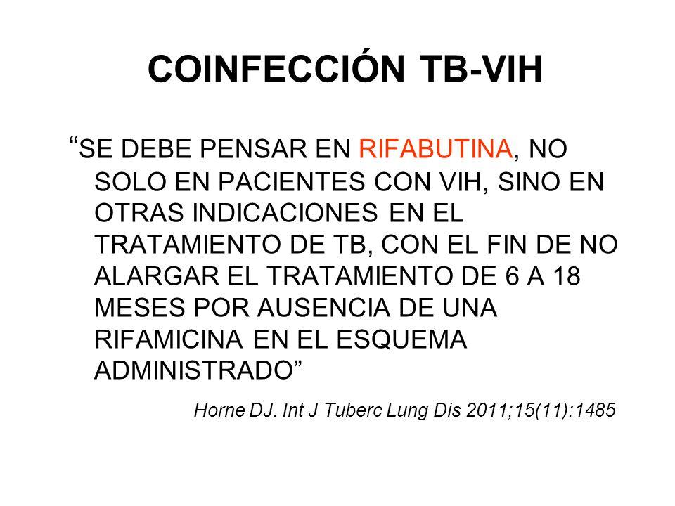 COINFECCIÓN TB-VIH