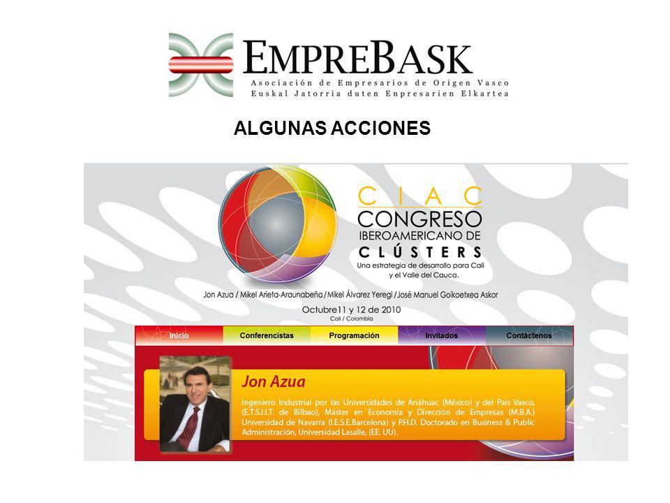 ALGUNAS ACCIONES