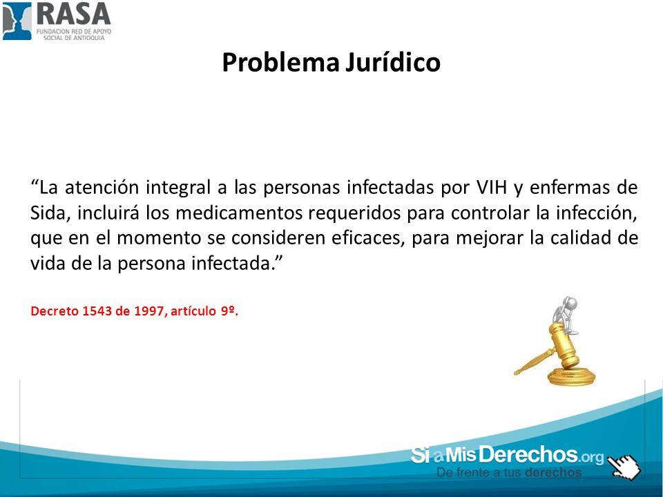 Problema Jurídico