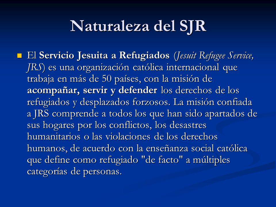 Naturaleza del SJR