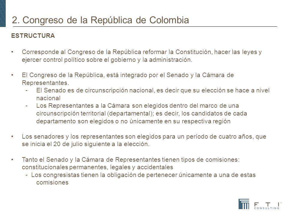 2. Congreso de la República de Colombia