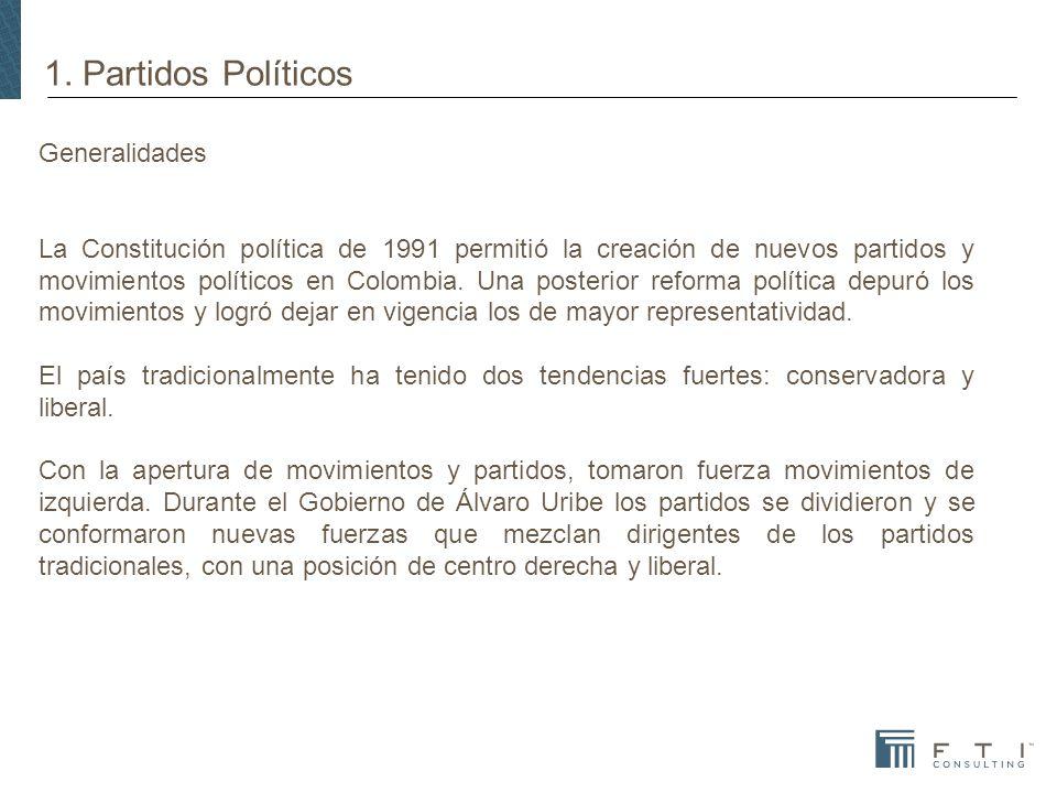1. Partidos Políticos Generalidades