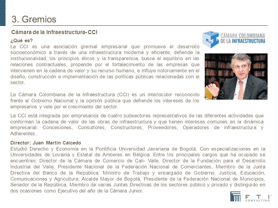Cámara de la Infraestructura- CCI