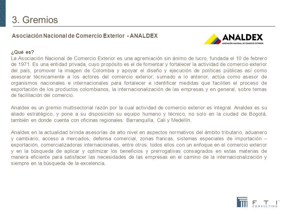 Asociación Nacional de Comercio Exterior - ANALDEX