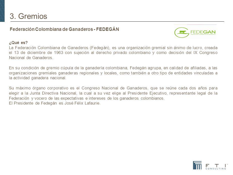 Federación Colombiana de Ganaderos - FEDEGÁN
