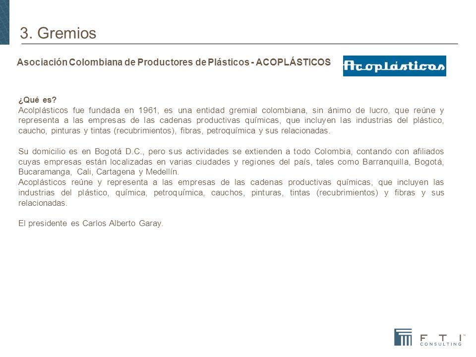 Asociación Colombiana de Productores de Plásticos - ACOPLÁSTICOS