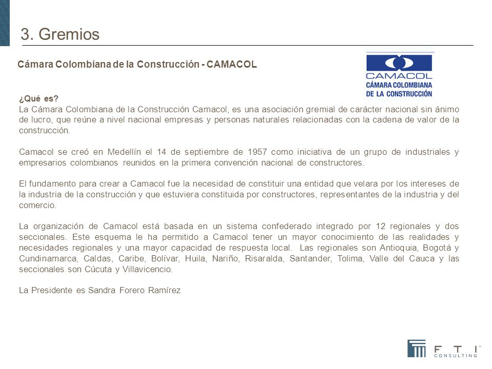 Cámara Colombiana de la Construcción - CAMACOL