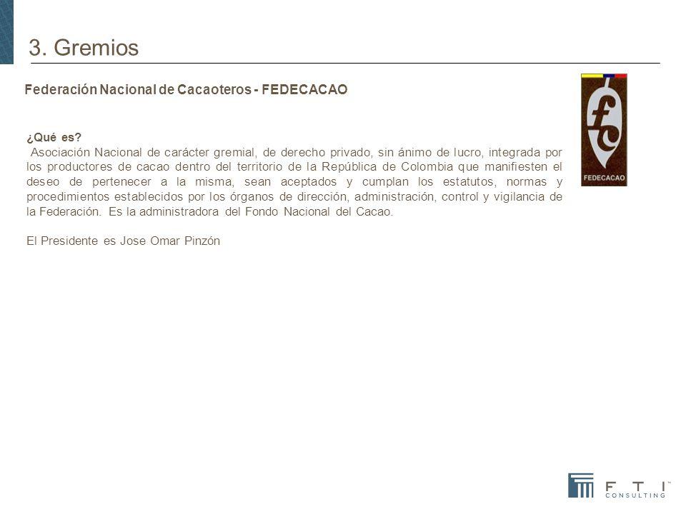 Federación Nacional de Cacaoteros - FEDECACAO