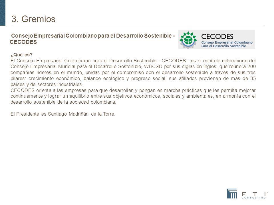 Consejo Empresarial Colombiano para el Desarrollo Sostenible - CECODES