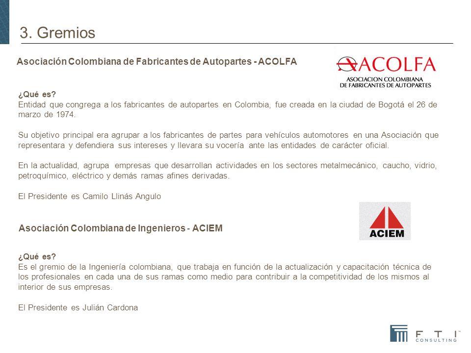 Asociación Colombiana de Fabricantes de Autopartes - ACOLFA
