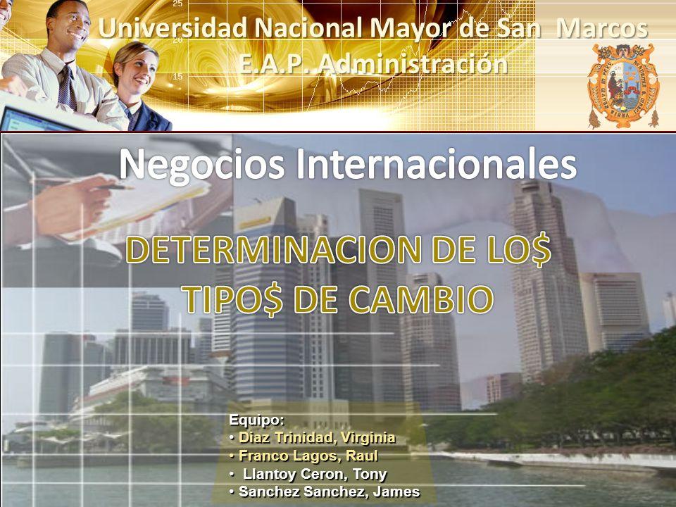 Universidad Nacional Mayor de San Marcos E.A.P. Administración
