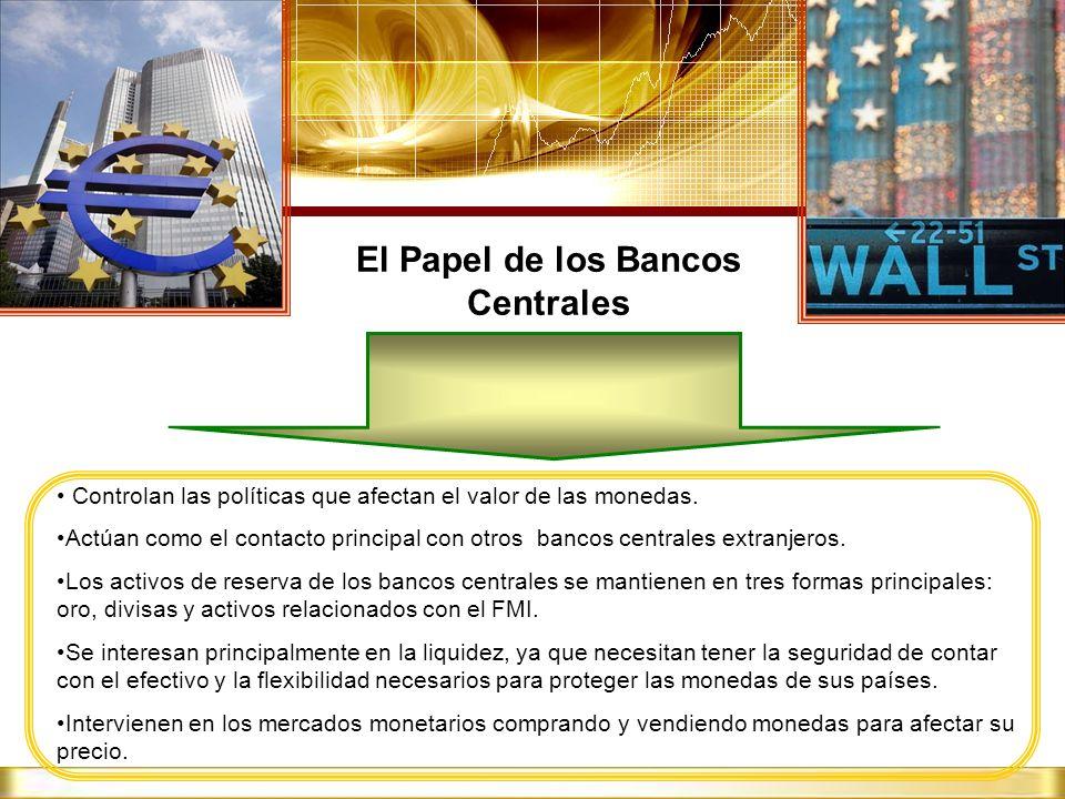 El Papel de los Bancos Centrales