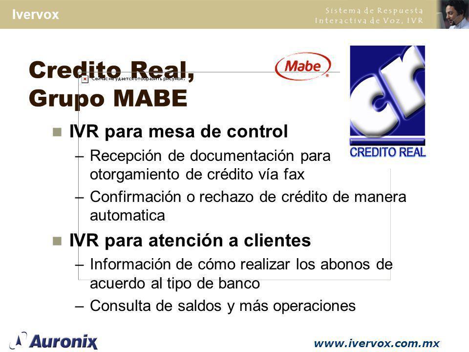 Credito Real, Grupo MABE